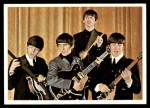 1964 Topps Beatles Color #22   Beatles performing Front Thumbnail