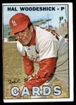 1967 Topps #324  Hal Woodeshick  Front Thumbnail