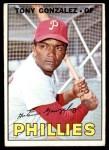 1967 Topps #548  Tony Gonzalez  Front Thumbnail