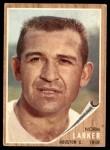 1962 Topps #23  Norm Larker  Front Thumbnail