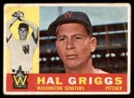 1960 Topps #244  Hal Griggs  Front Thumbnail