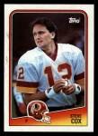 1988 Topps #15  Steve Cox  Front Thumbnail