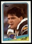 1988 Topps #211  Jim Lachey  Front Thumbnail