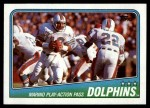 1988 Topps #189   Dolphins Leaders Front Thumbnail