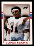 1989 Topps #27  Ickey Woods  Front Thumbnail