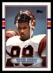 1989 Topps #31  David Grant  Front Thumbnail