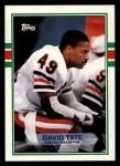 1989 Topps #67  David Tate  Front Thumbnail