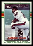 1989 Topps #166  Lawrence Taylor  Front Thumbnail