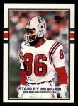 1989 Topps #199  Stanley Morgan  Front Thumbnail