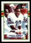 1989 Topps #246  Steve Sewell  Front Thumbnail