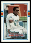 1989 Topps #302  Mark Clayton  Front Thumbnail