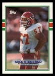1989 Topps #350  Mike Stensrud  Front Thumbnail