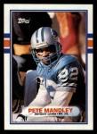 1989 Topps #368  Pete Mandley  Front Thumbnail