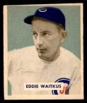 1949 Bowman #142  Eddie Waitkus  Front Thumbnail