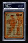 1981 Topps #106 W  -  Kareem Abdul-Jabbar Super Action Back Thumbnail