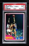 1981 Topps #106 W  -  Kareem Abdul-Jabbar Super Action Front Thumbnail