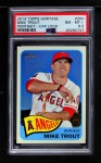 2014 Topps Heritage #250 BAT Mike Trout  Front Thumbnail