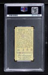 1911 T205  Fred Beck  Back Thumbnail