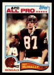 1982 Topps #50  Pat McInally  Front Thumbnail