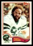 1982 Topps #175  Marty Lyons  Front Thumbnail