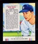 1955 Red Man #5 AL Bob Grim  Front Thumbnail