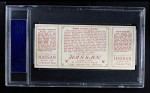 1912 T202 Hassan   -  Walter Johnson / Jack Knight Knight Catches Runner  Back Thumbnail
