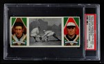 1912 T202 Hassan   -  Walter Johnson / Jack Knight Knight Catches Runner  Front Thumbnail