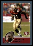 2003 Topps #200  Terrell Owens  Front Thumbnail
