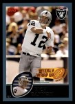 2003 Topps #310   -  Rich Gannon Weekly Wrap-Up Front Thumbnail