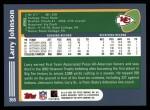 2003 Topps #365  Larry Johnson  Back Thumbnail