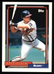 1992 Topps #39  Greg Olson  Front Thumbnail