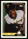 1992 Topps #43  Jose Lind  Front Thumbnail