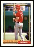 1992 Topps #47  Rex Hudler  Front Thumbnail