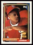1992 Topps #292  Ray Lankford  Front Thumbnail