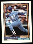 1992 Topps #577  Kevin Seitzer  Front Thumbnail