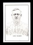1950 Callahan Hall of Fame  John McGraw  Front Thumbnail