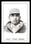 1950 Callahan Hall of Fame A Chief Bender  Front Thumbnail
