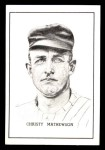 1950 Callahan Hall of Fame  Christy Mathewson  Front Thumbnail