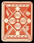 1951 Topps Red Back #3  Ferris Fain  Back Thumbnail