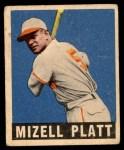 1948 Leaf #159  Mizell Platt  Front Thumbnail
