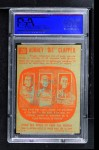 1960 Topps #26   -  Dit Clapper All-Time Greats Back Thumbnail