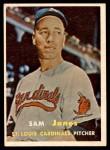 1957 Topps #287  Sam Jones  Front Thumbnail