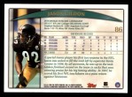 1998 Topps #86  Jason Gildon  Back Thumbnail