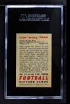 1951 Bowman #13  Clyde Turner  Back Thumbnail