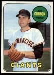 1969 Topps #158  Joe Gibbon  Front Thumbnail