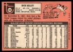 1969 Topps #359  Dick Kelley  Back Thumbnail