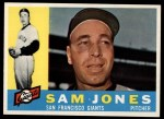 1960 Topps #410  Sam Jones  Front Thumbnail