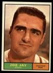 1961 Topps #233  Joey Jay  Front Thumbnail